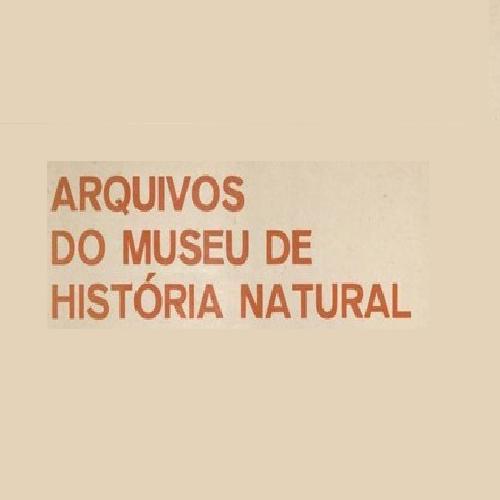 Arquivos Do Museu De História Natural E Jardim Botânico Da UFMG