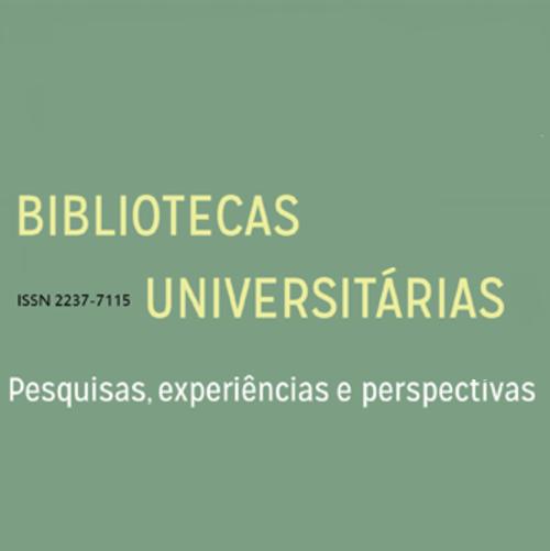 Bibliotecas Universitárias – Pesquisas, Experiências E Perspectivas