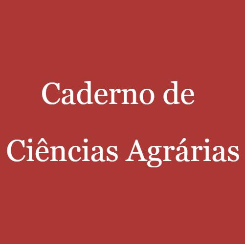 Caderno De Ciências Agrárias