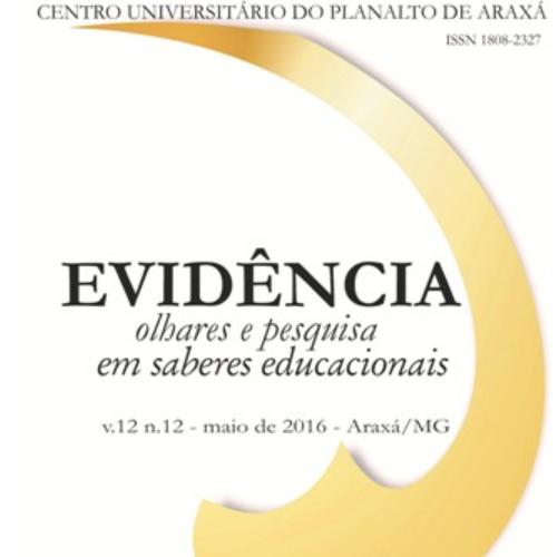 Evidência – Olhares E Pesquisa Em Saberes Educacionais