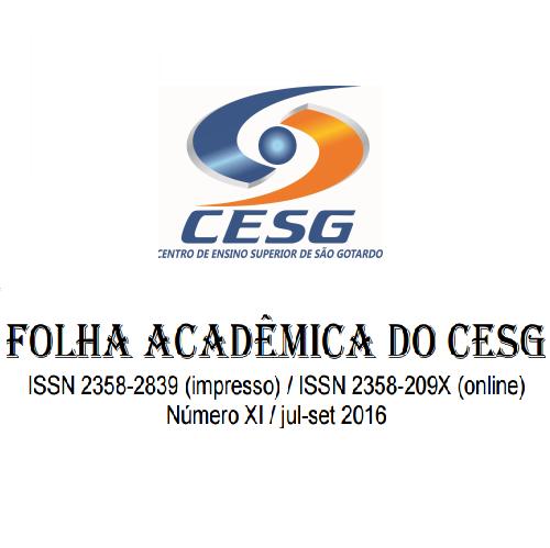 Folha Acadêmica Do CESG