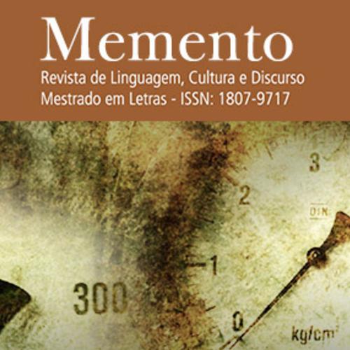 Memento – Revista De Linguagem, Cultura E Discurso