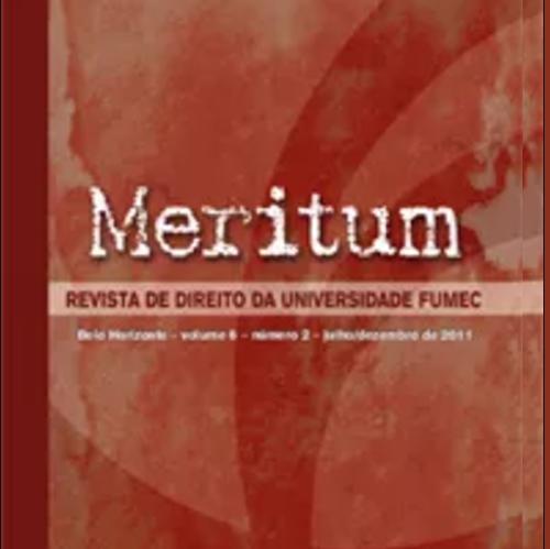 Meritum – Revista De Direito Da Universidade FUMEC