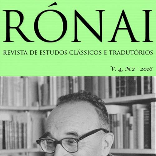 Rónai – Revista De Estudos Clássicos E Tradutórios