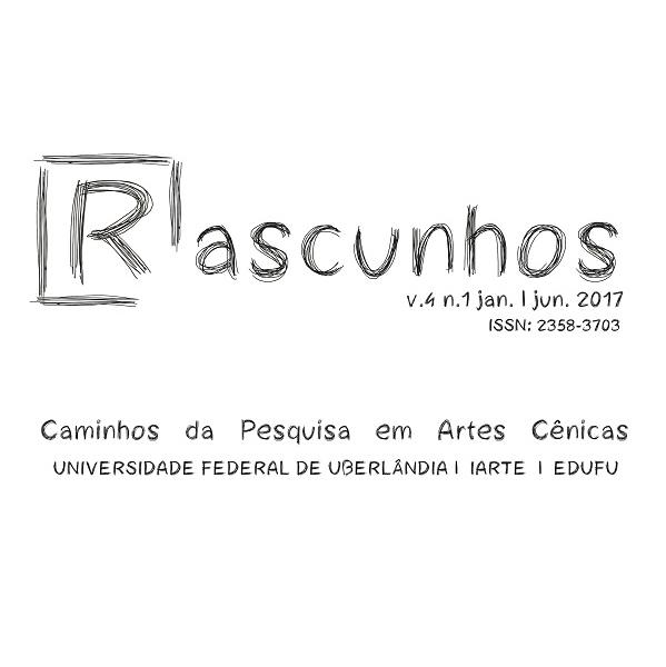 Rascunhos – Caminhos Da Pesquisa Em Artes Cênicas
