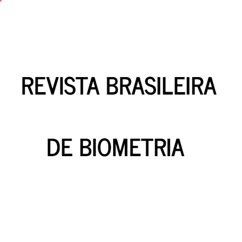 Revista Brasileira De Biometria – Biometric Brazilian Journal