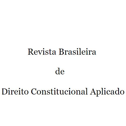 Revista Brasileira De Direito Constitucional Aplicado