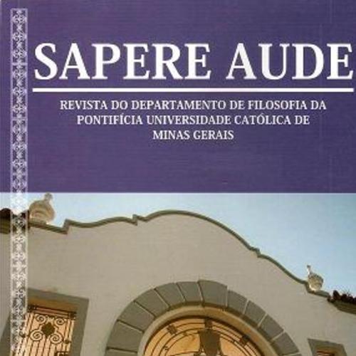 Sapere Aude – Revista De Filosofia