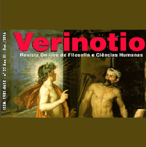 Verinotio – Revista On-line De Filosofia E Ciências Humanas