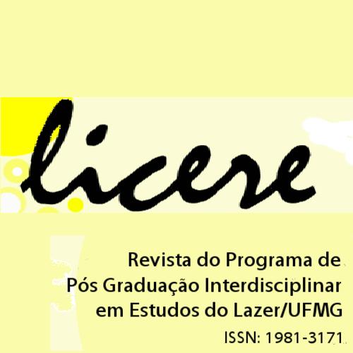 Licere – Revista Do Programa De Pós-graduação Interdisciplinar Em Estudos Do Lazer