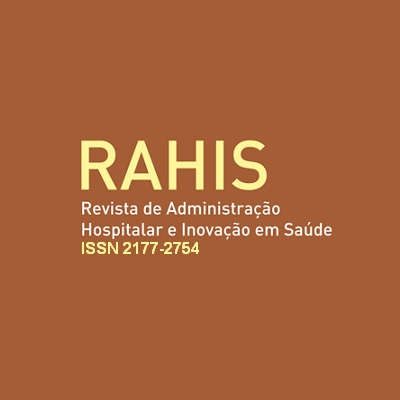 Revista De Administração Hospitalar E Inovação Em Saúde (RAHIS)