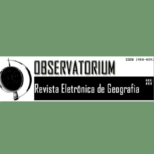 OBSERVATORIUM: Revista Eletrônica De Geografia