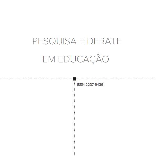 Pesquisa E Debate Em Educação