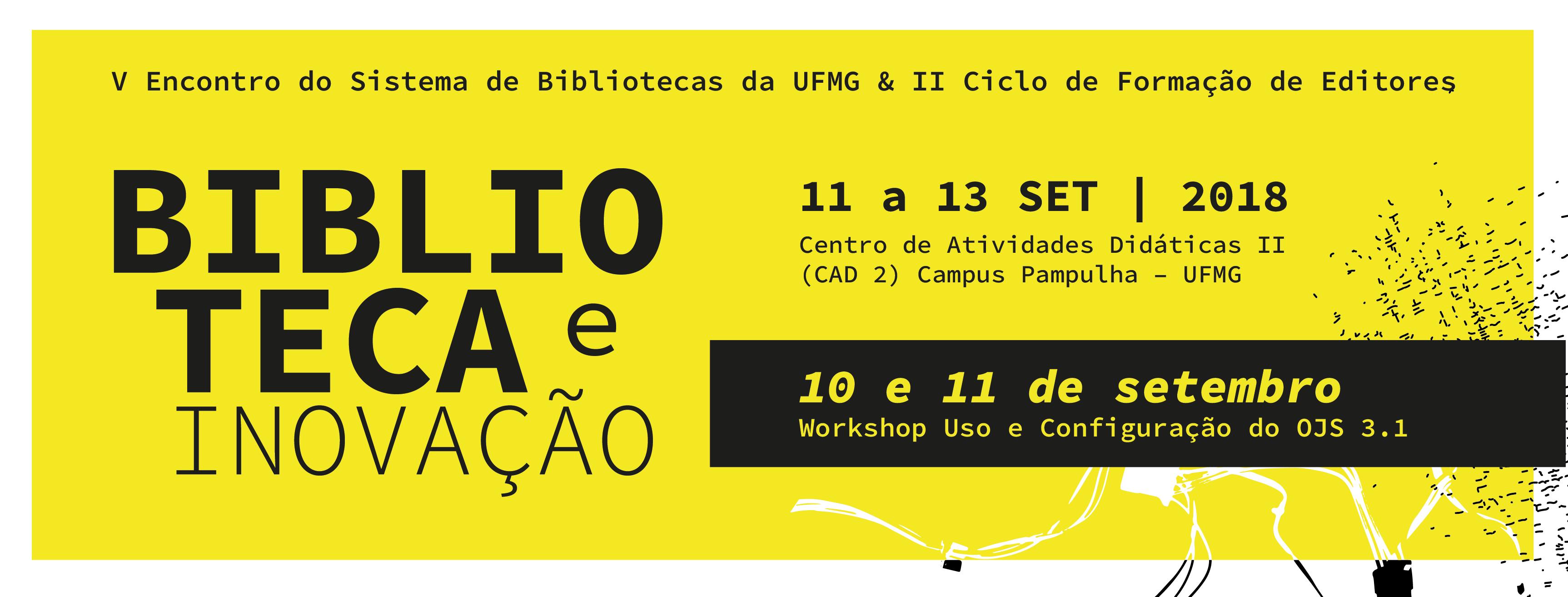 II Ciclo De Formação De Editores Da UFMG